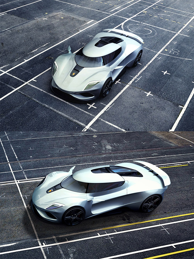 Koenigsegg Legera Concept by Jennarong Muengtaweep