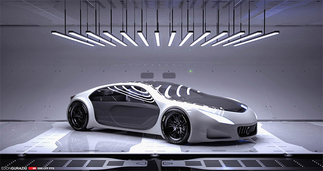 Car Interior Design by Edon Guraxiu