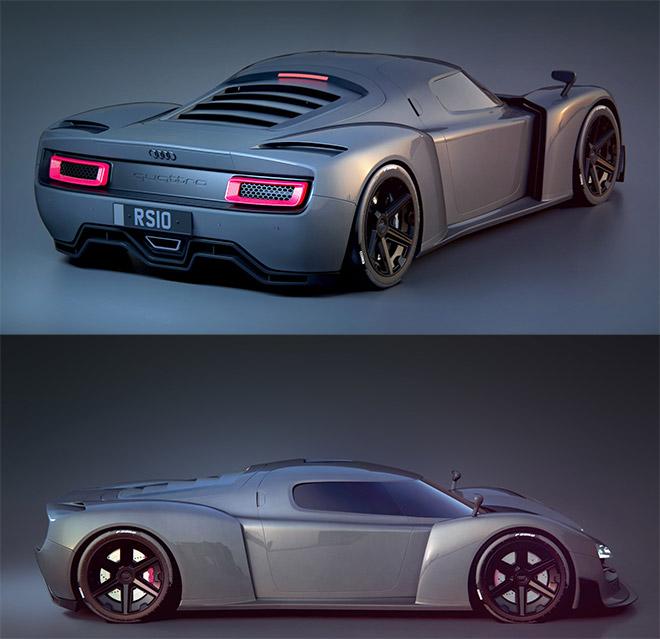 Quattro Concept by Pete Norris