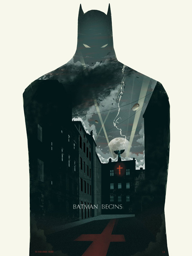 Batman Begins by Michael Rogers