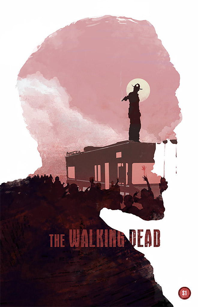 The Walking Dead by Michael Rogers