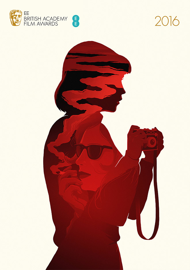 BAFTA 2016 Best Film posters by Levente Szabo