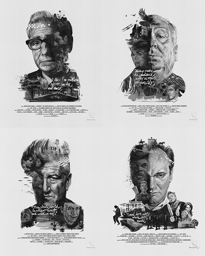 Movie Director Prints by Julian Rentzch