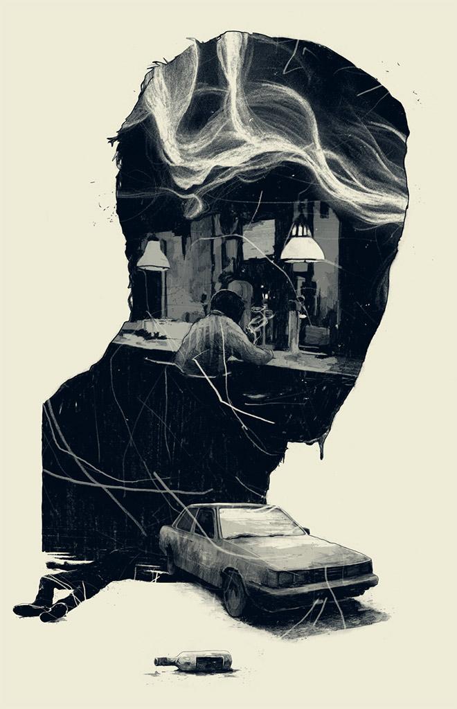 Esquire US Illustration by Simon Prades