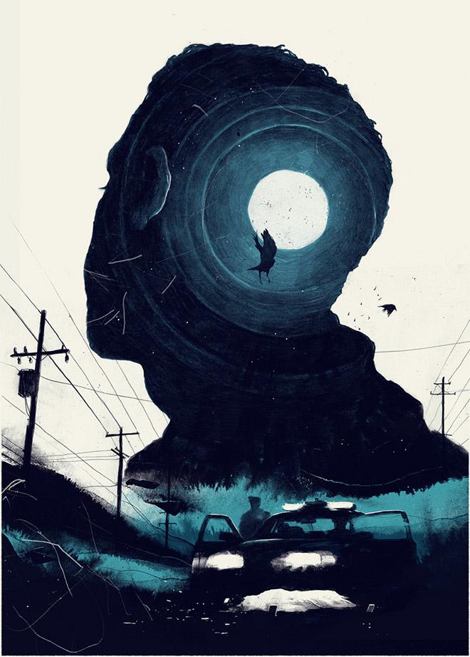 Cons Short Story Illustration by Simon Prades