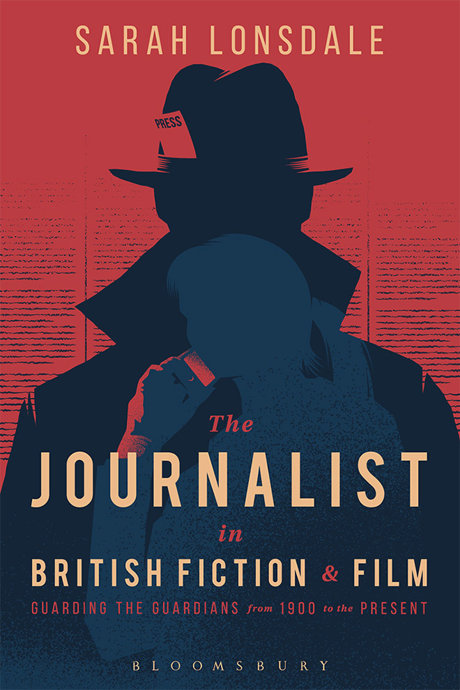 Journalist In British Fiction Cover by TommyPocket Design