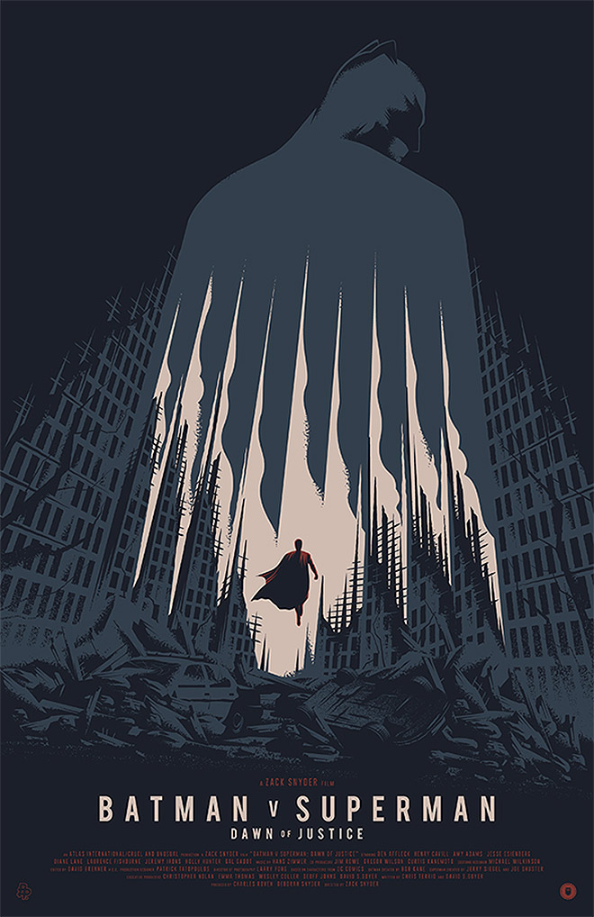 Batman vs Superman by TommyPocket Design