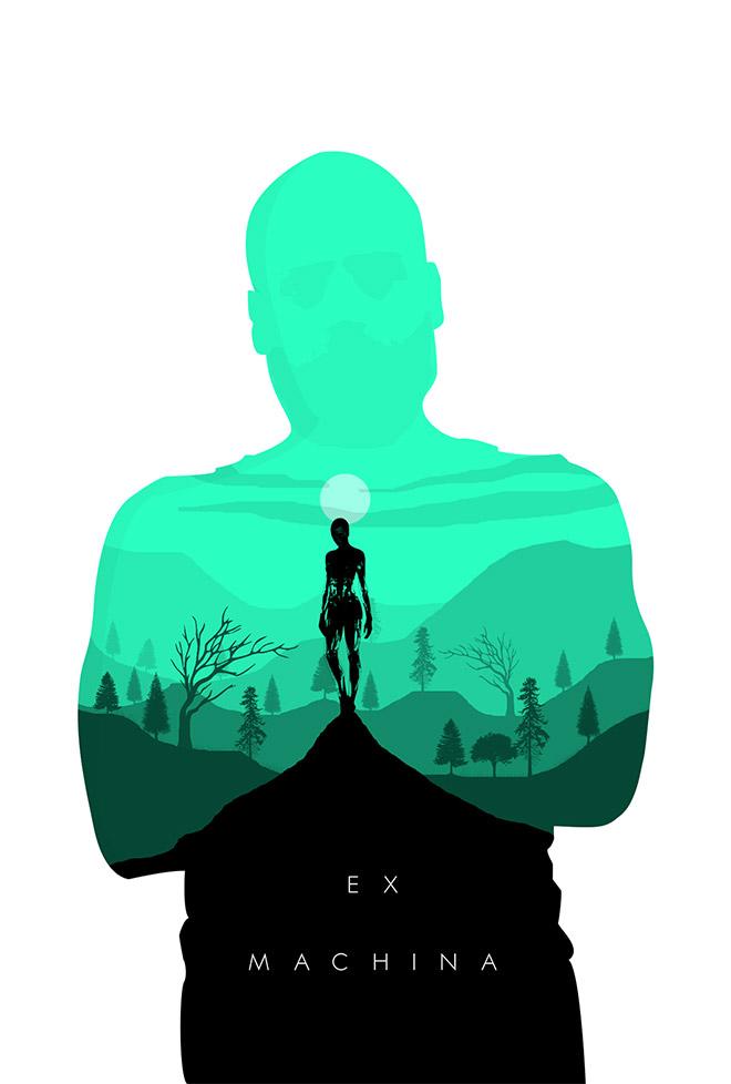 EX Machina Movie Poster Concept by Ben Parkin