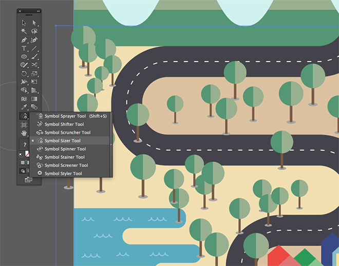 how to create selection illustrator