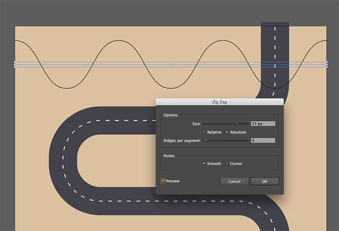 Vector Drawing Straight Lines : How to create a flat style vector map in adobe illustrator