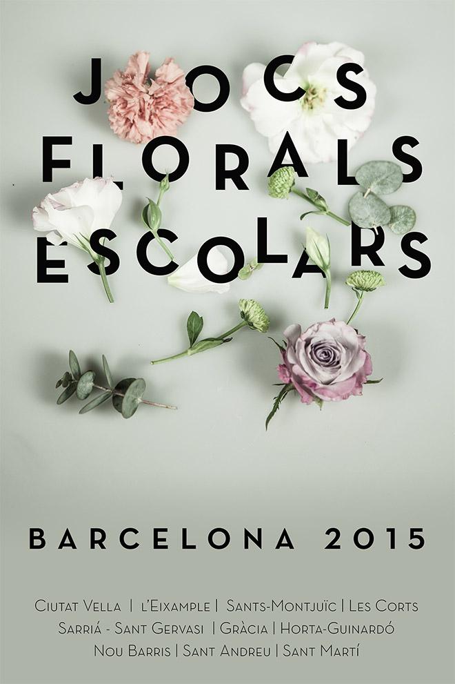 Jocs Florals Posters by Emmy Forss Koski