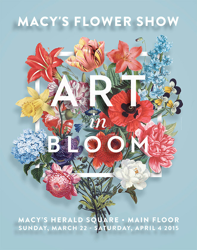 40 floral typography designs that combine flowers text