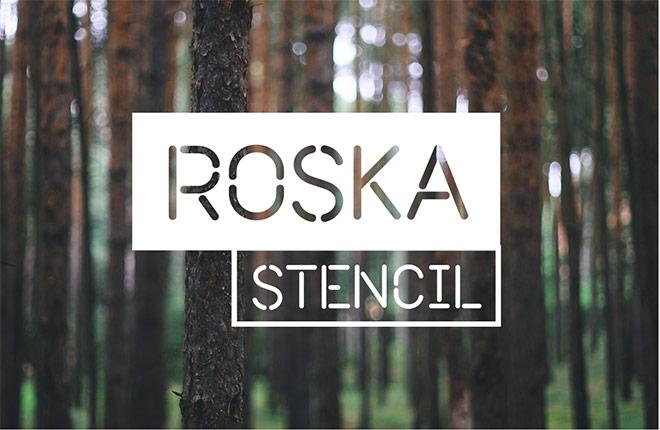 Roska Stencil