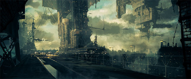 Cityscape by John Uibel