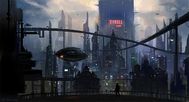 neo futuristic concept artists
