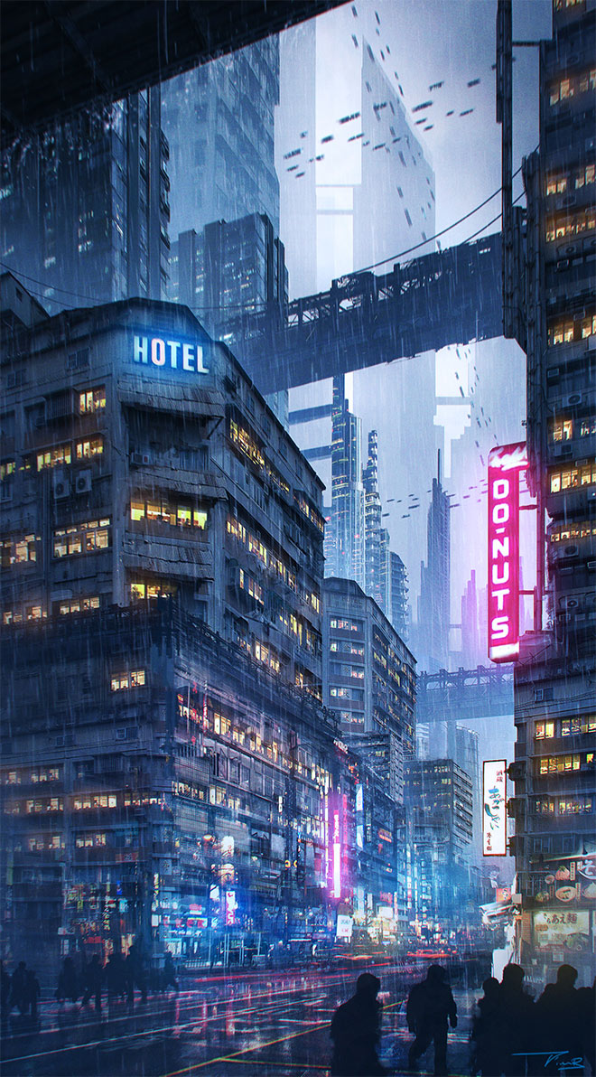 Downtown by Tim Blandin