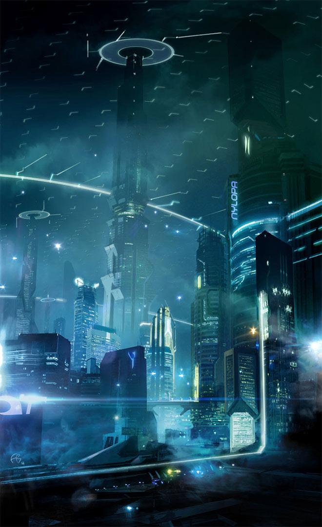 Iconic Future by Francois Baranger