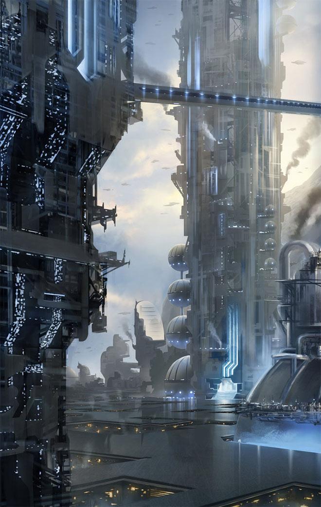 Upper City by Sebastien Wagner
