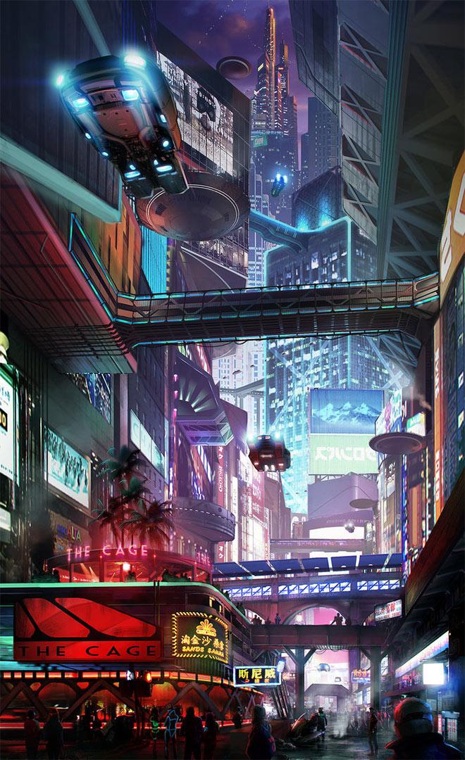Cityscapes 3 by Hazzard65