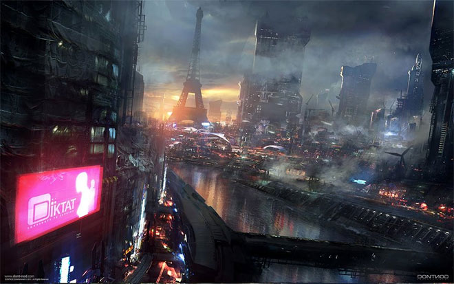 Neo-Paris 2084 by Paooo