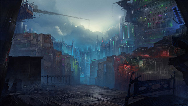 City by Piotr Pest Piglas
