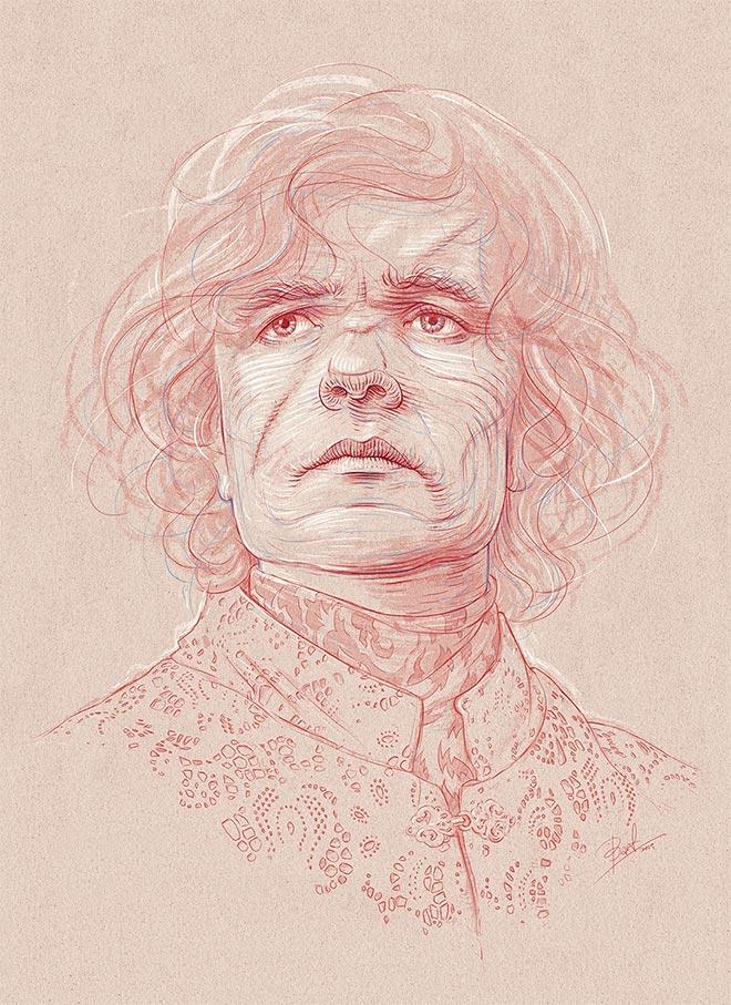 Tyrion Lannister by Bartosz Kosowski