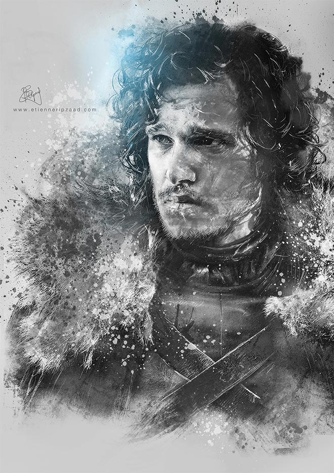 Game of Thrones Photo Illustrations by Etienne Ripzaad