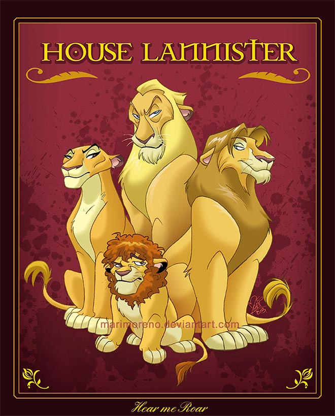 House Lannister by marimoreno