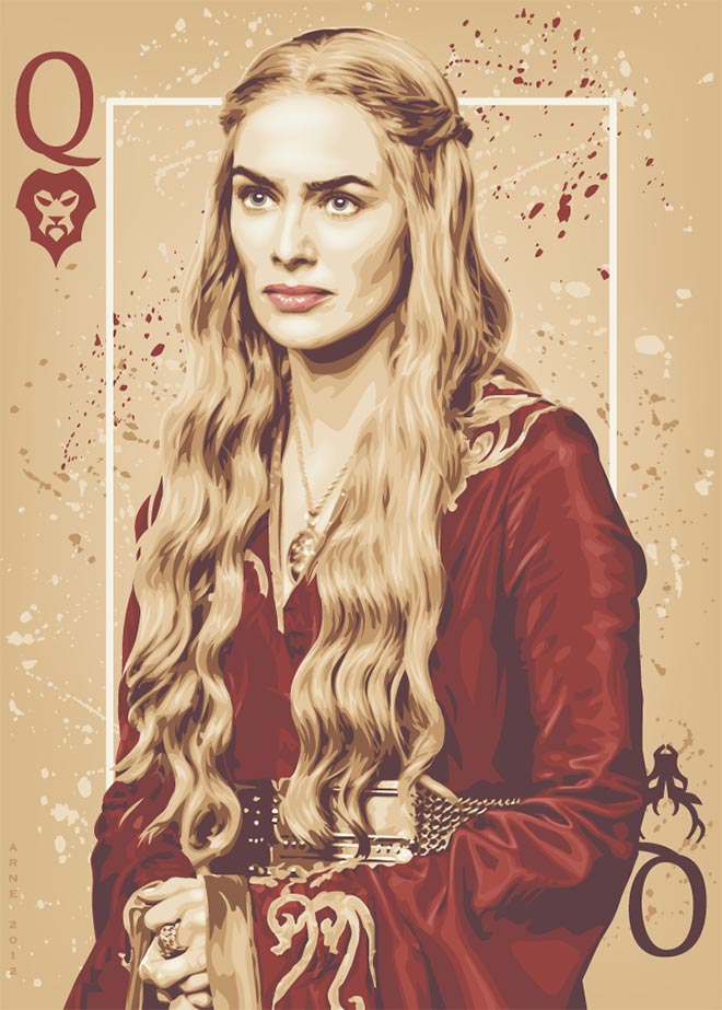 Queen Cersei by ratscape