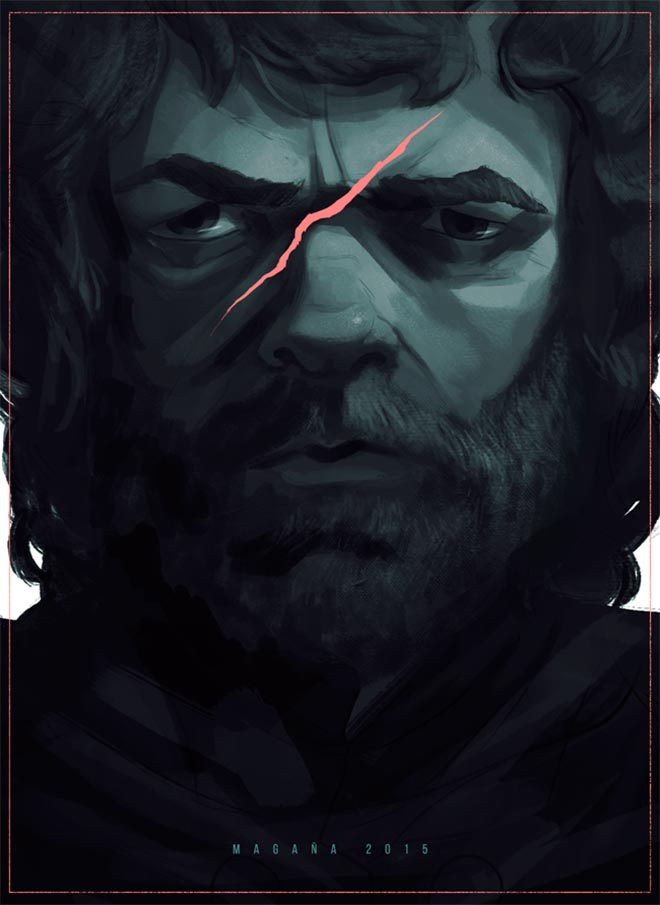 Tyrion Portrait by Felipe Magaña