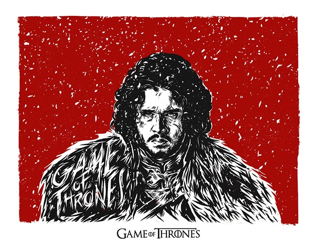 Game of Thrones Fan Art by YEP!