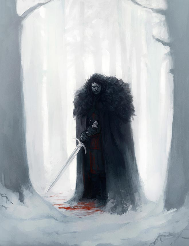 Jon Snow by Diego Sanches
