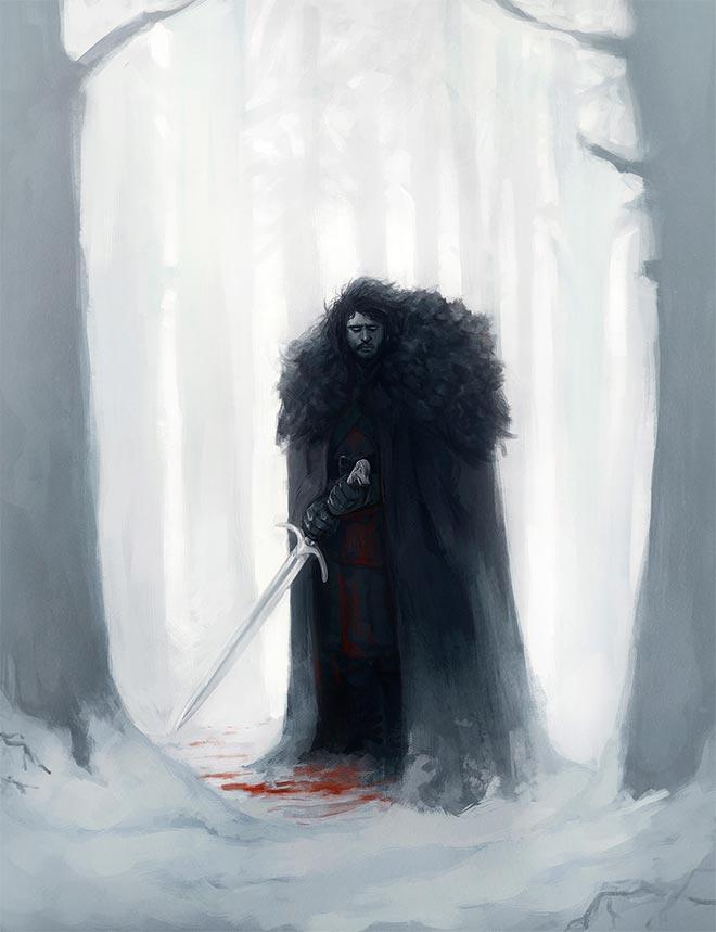 Jon Snow by Diego Sanches