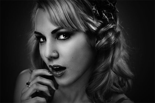 20 Free Black and White Photo Effect Actions for Adobe Photoshop