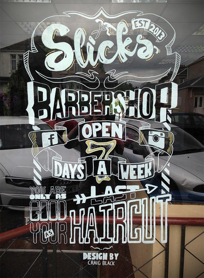 Slick's Barbershop by Craig Black