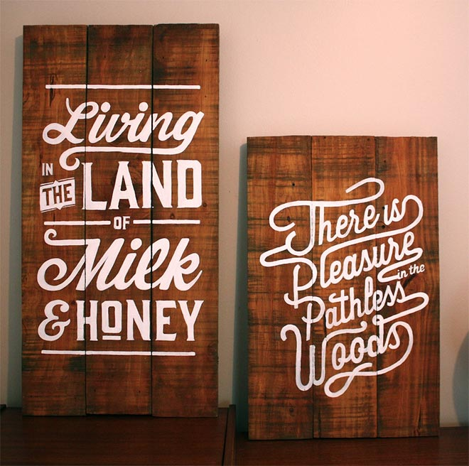 Works on Wood by Lisa Nicole