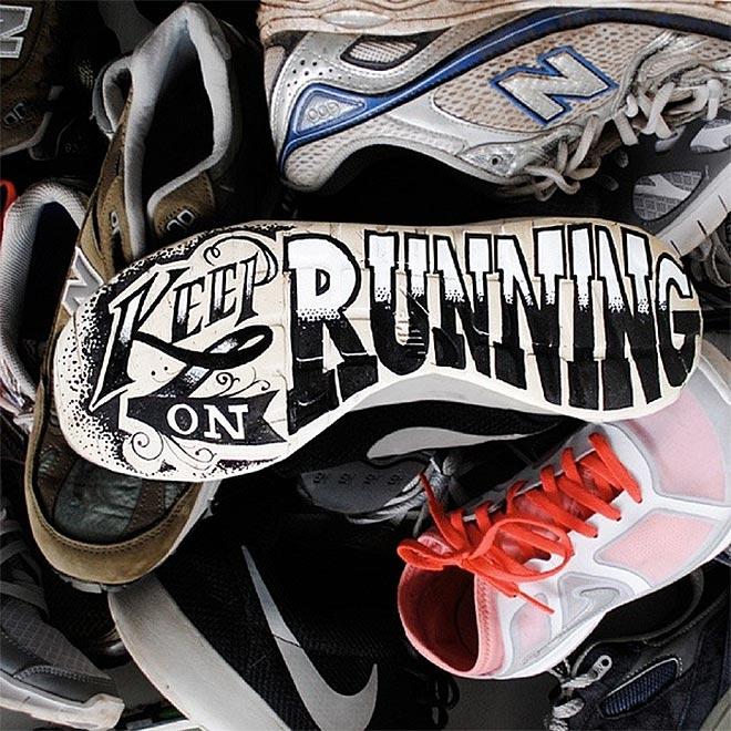 Keep on Running by Rob Draper