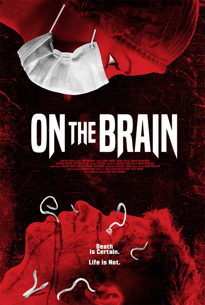 On the Brain Key Art by Garry Marta