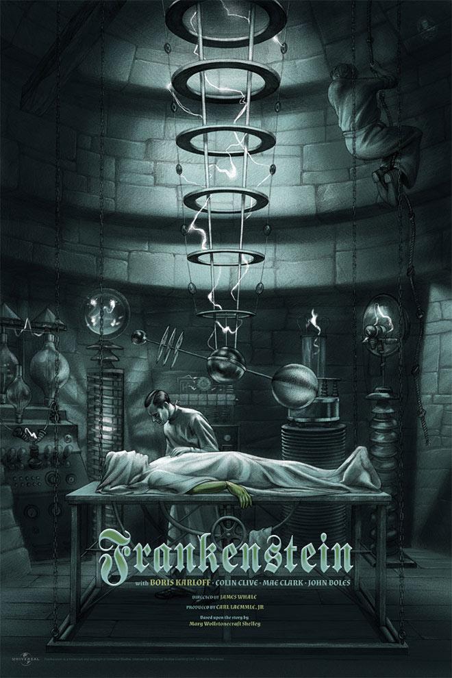 Frankenstein by Jonathan Burton