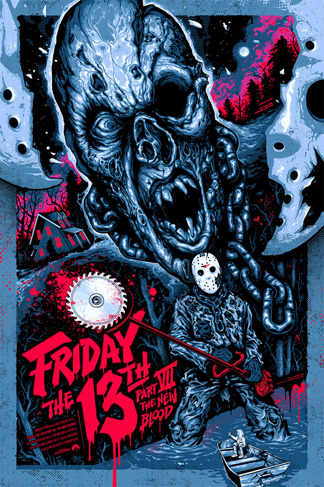 Friday the 13th Part 7 by Graham Erwin