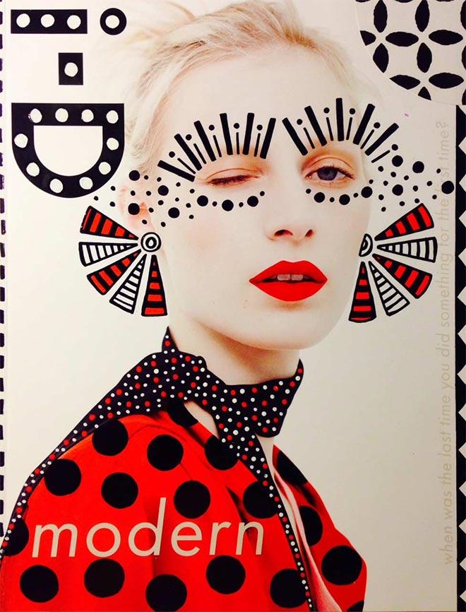 fun magazine cover doodle art by ana strumpf amp hattie stewart