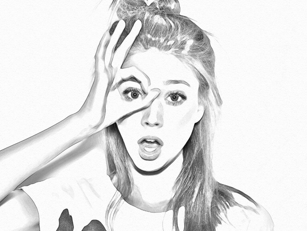 Sketch Photo In Photoshop