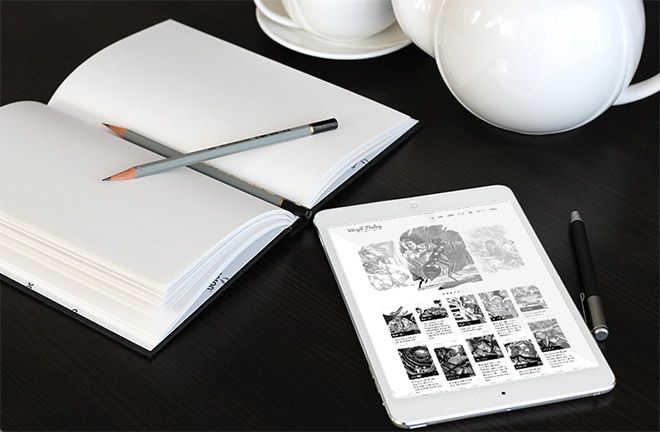 25 Free PSD Templates to Mockup Your Sketches & Drawings