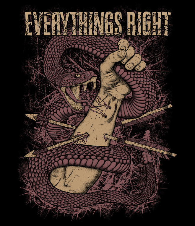 Everythings Right by Nebojsa Matkovic