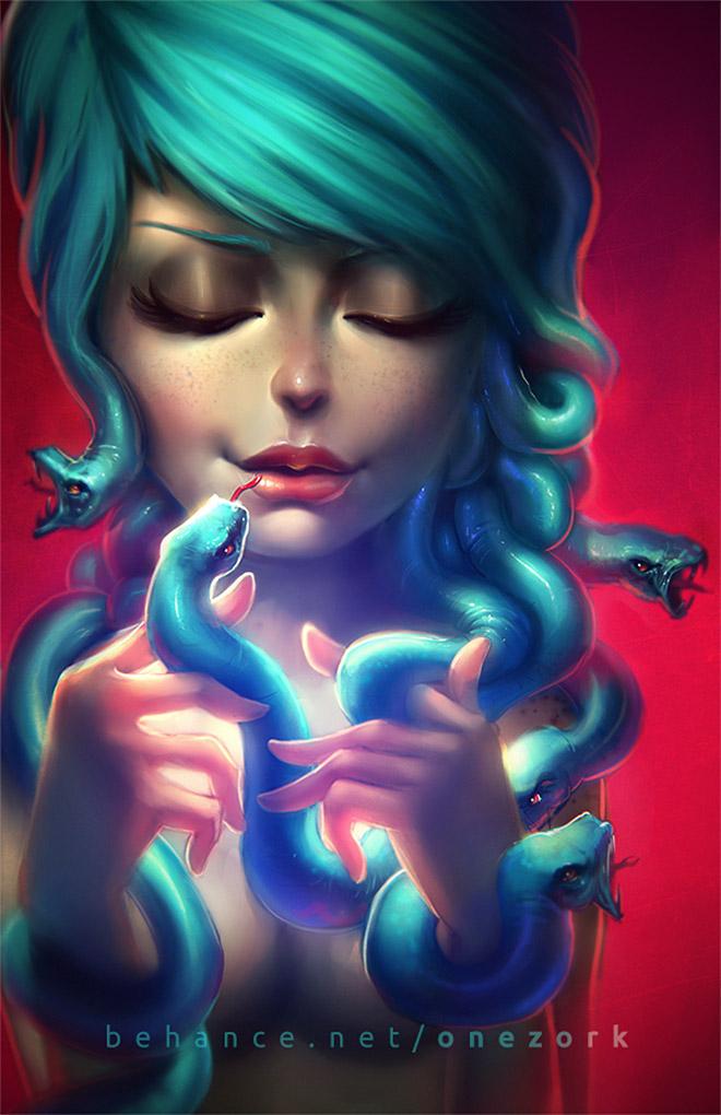 Medusa by Nestor Marinero Cervano