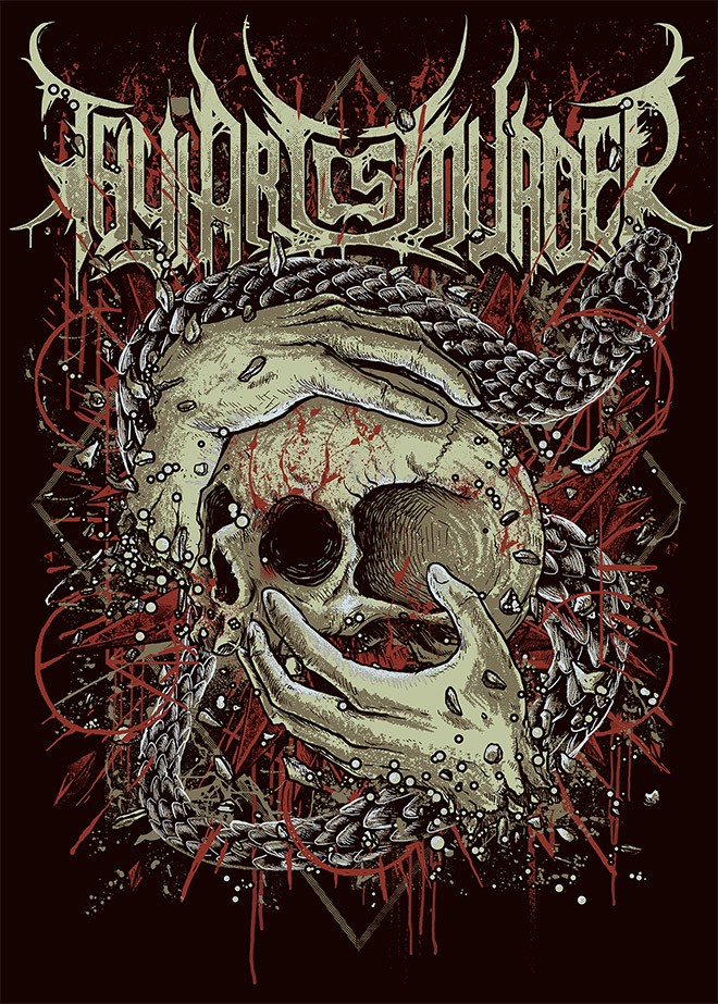 Thy Art Is Murder by Thockz Art