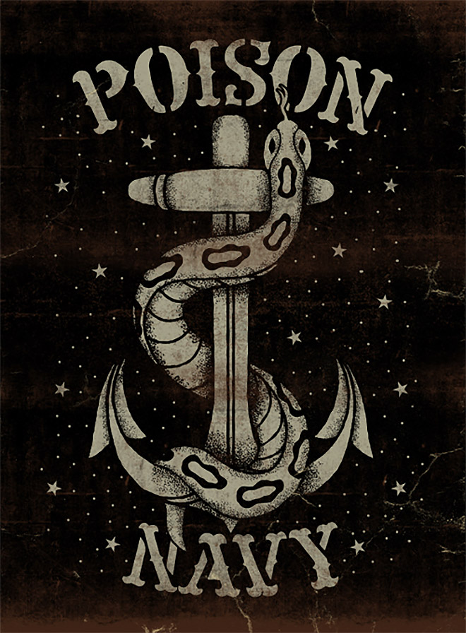 Poison Navy by Maleficio Rodriguez