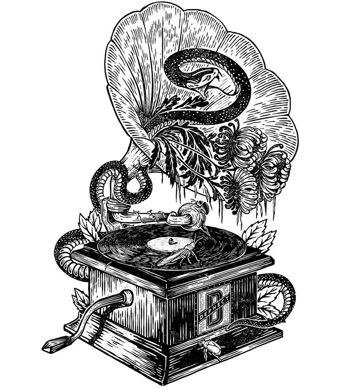 Gramophone-Dephect by Pedro Oyarbide