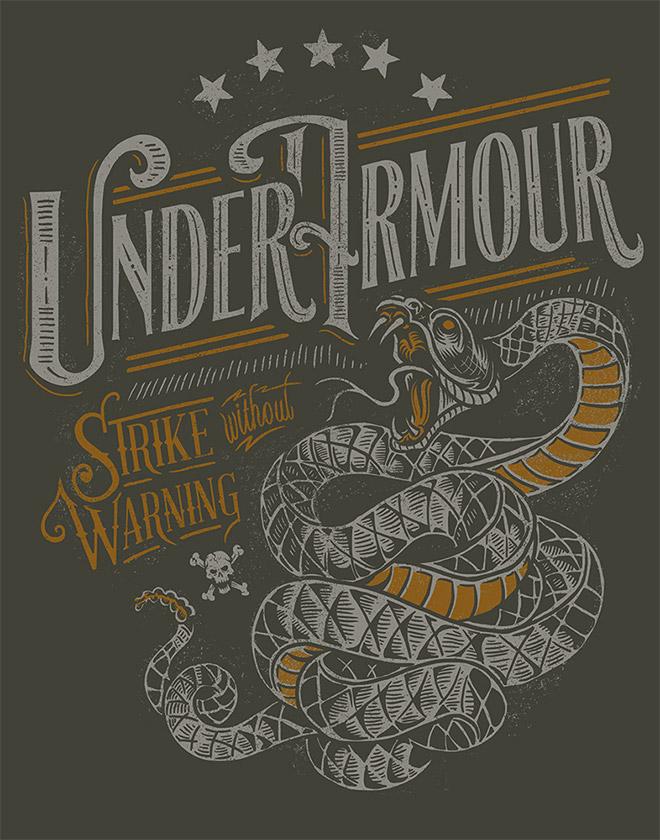 Under Armour by Derrick Castle