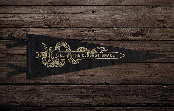 Kill the Closest Snake by Scott Naauao